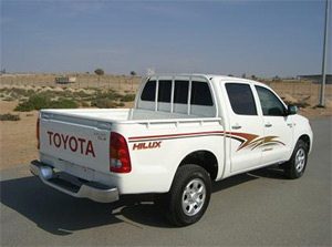 ARMORED HILUX