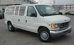 ARMORED FORD VAN