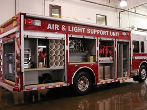 Air and Light Response Truck